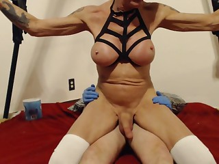 Excellent adult scene tranny Big Cock incredible watch show